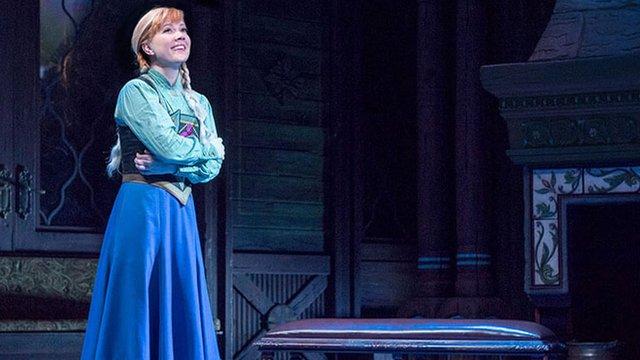 Frozen en Broadway