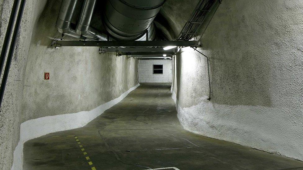 Túnel y sistema de ventilación de Vivos en Europa.