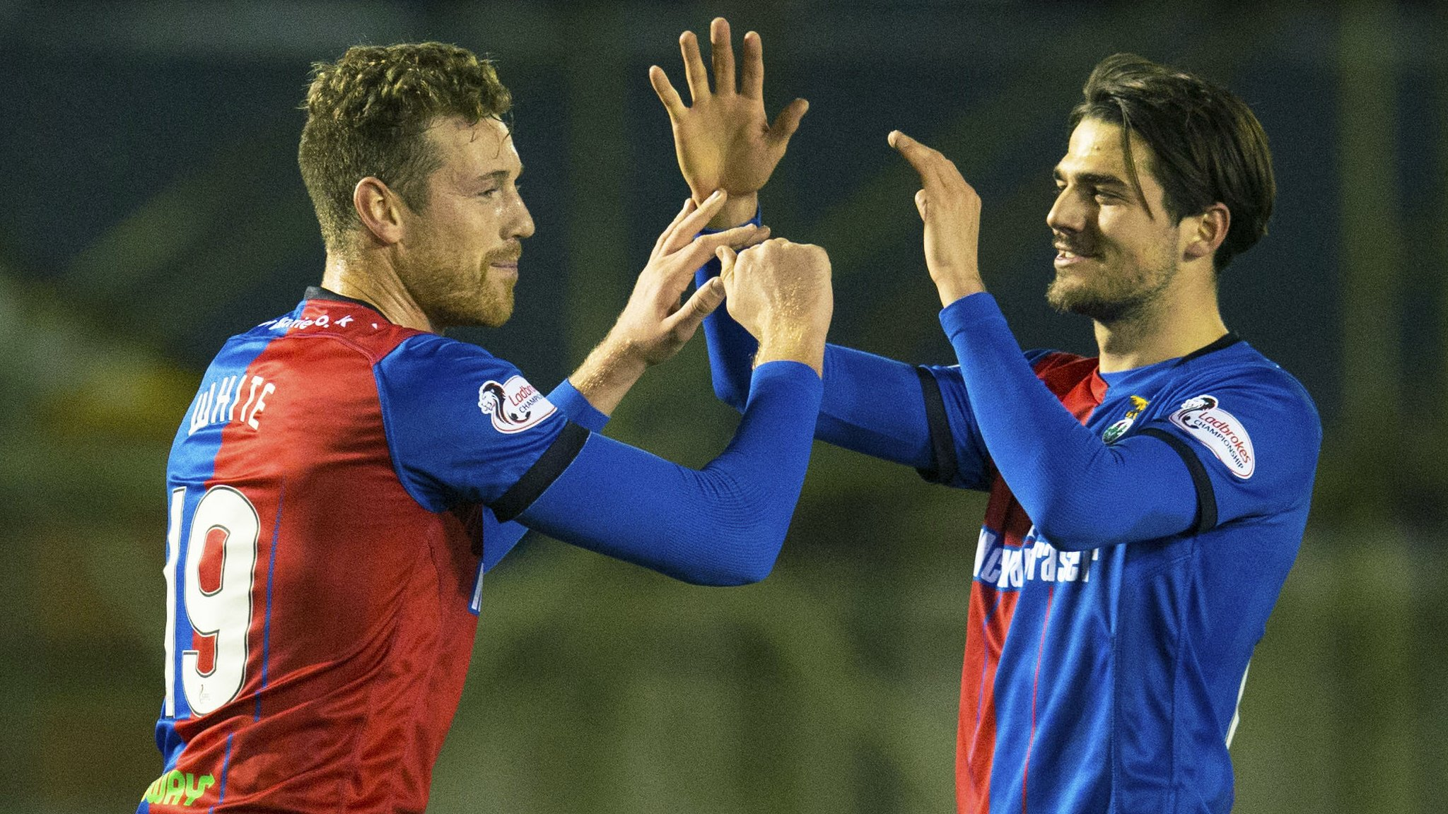 Inverness 6-1 Edinburgh City: White treble helps Highlanders progress in cup