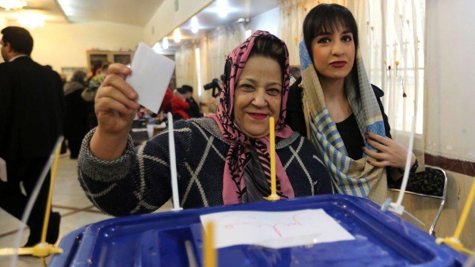 كانت نسبة المشاركة في الانتخابات البرلمانية لعام 2020 هي الأدنى منذ ثورة 1979
