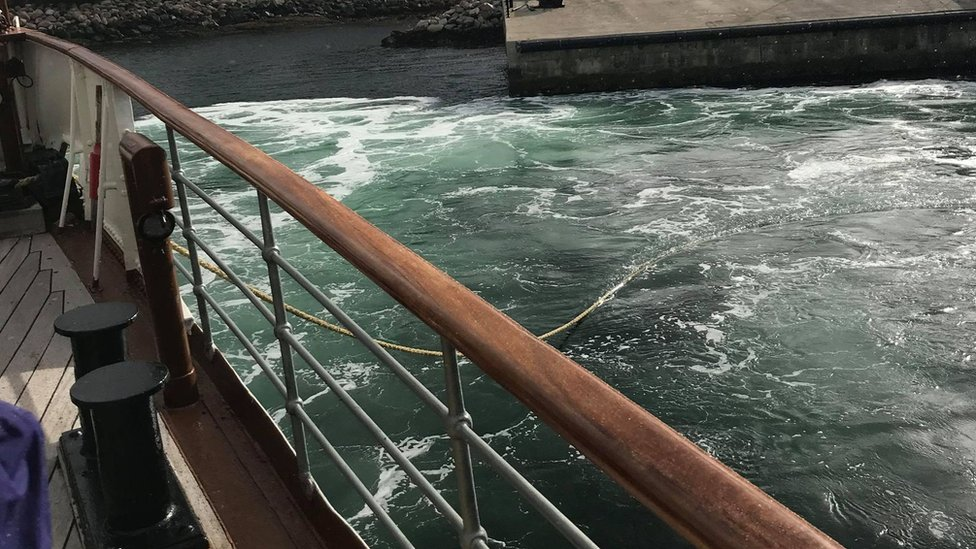 A picture from the boat