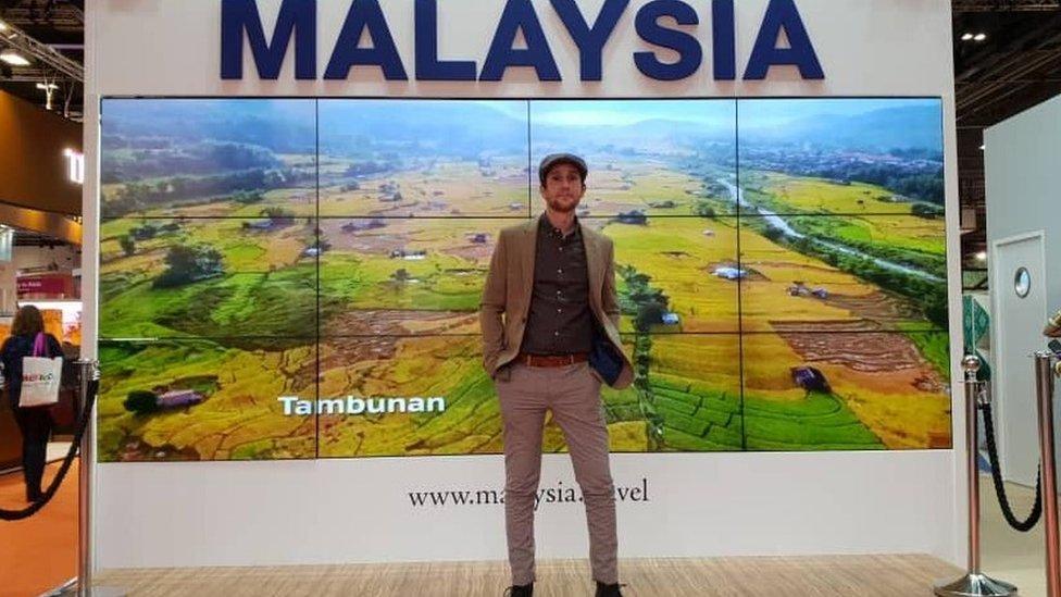 Dan is now a tourism ambassador for Terengganu state