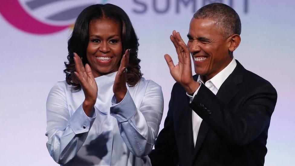 奧巴馬夫婦