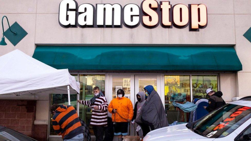 Negocios de Gamestop