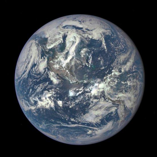 Imagen del planeta Tierra