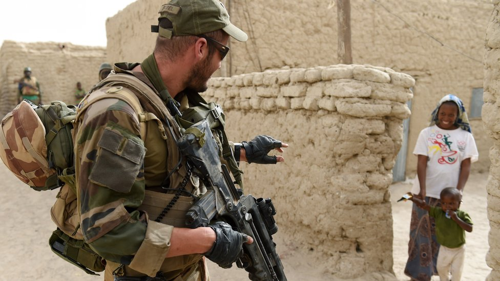 French troops have been helping the country fight jihadists since 2013