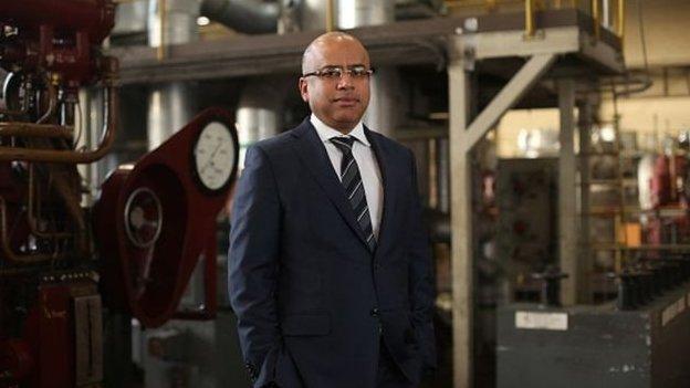 Sanjeev Gupta, pennaeth Liberty Group