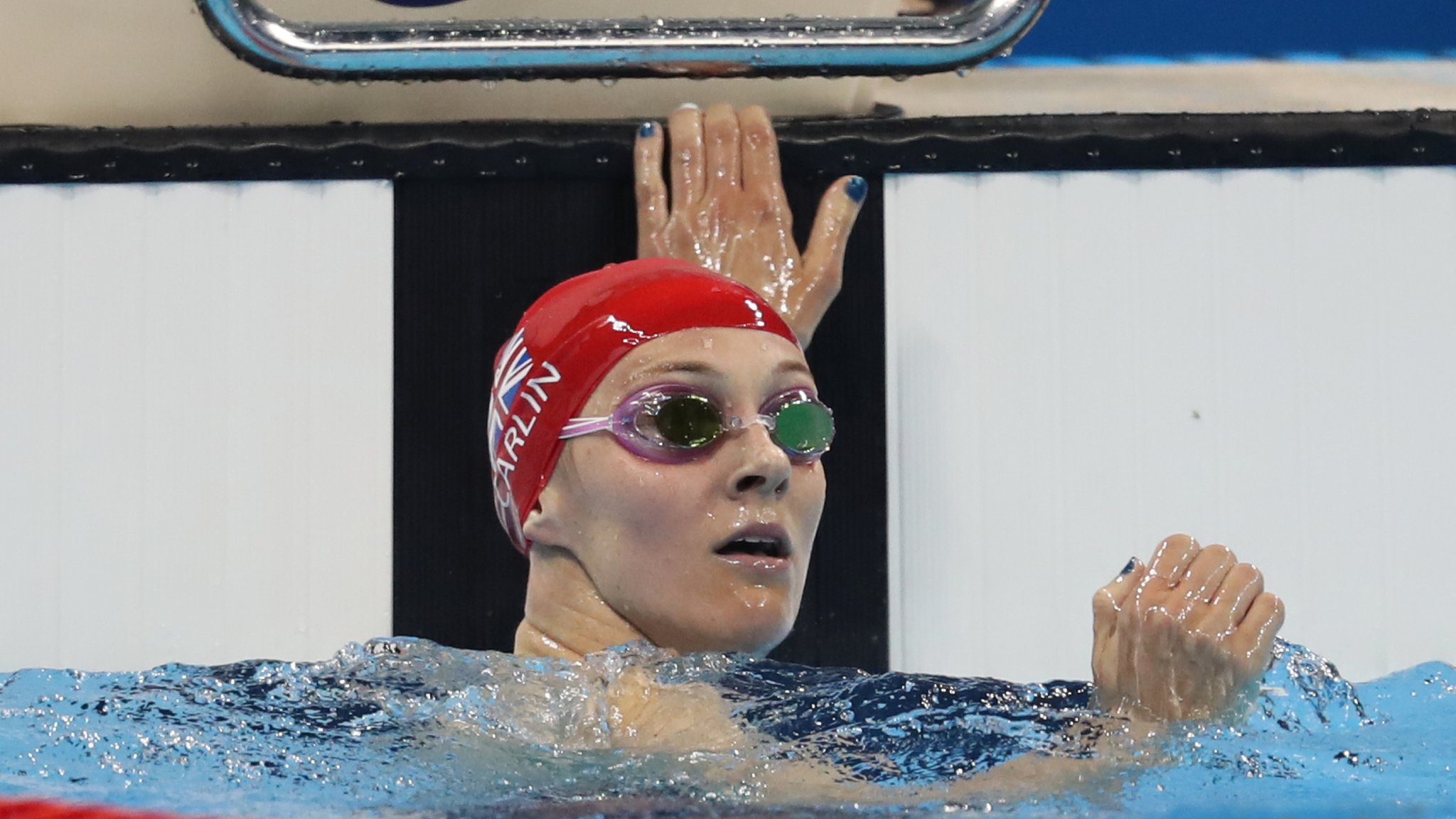 Jazz Carlin: Double Olympic medallist 'taking time out' from swimming