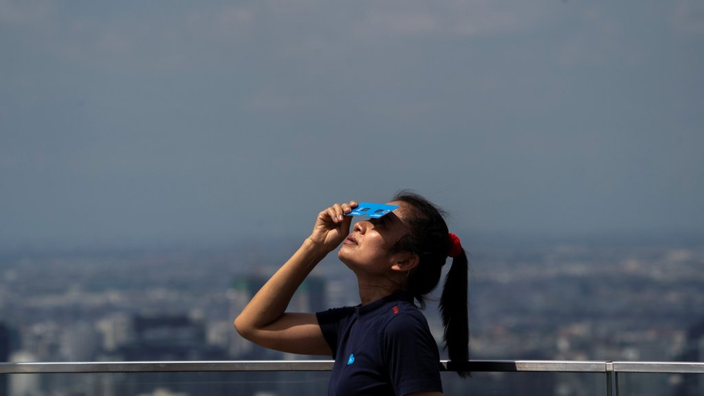 Solar eclipse to be visible in S