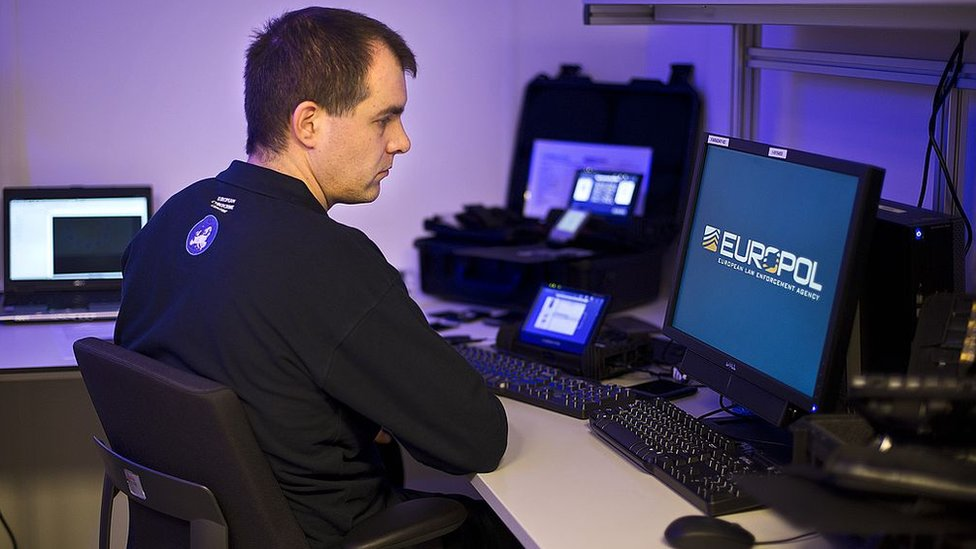 An employee of the European Cybercrime Centre