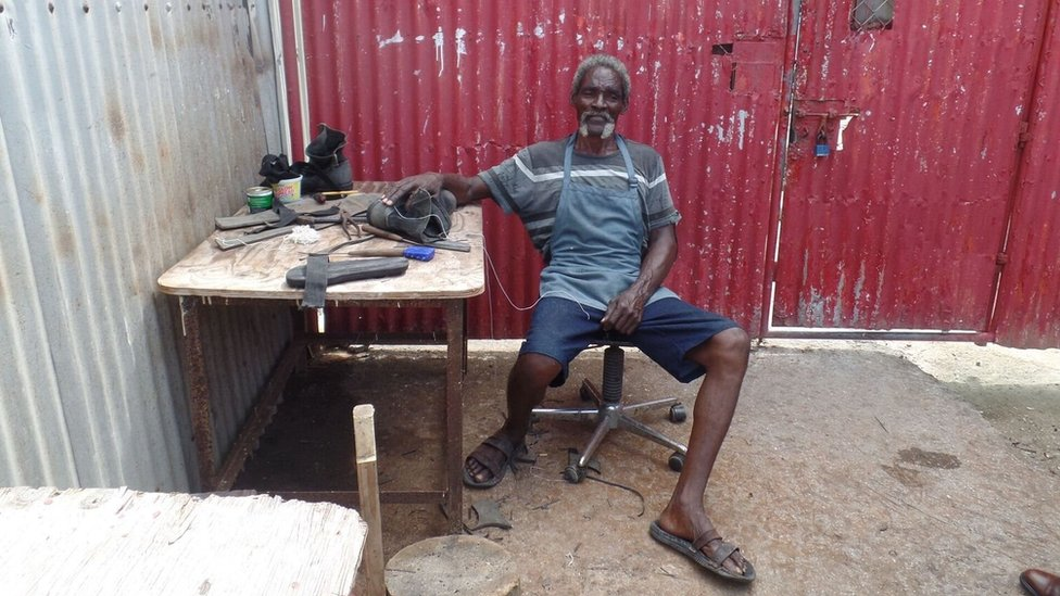 The longest-serving inmate at an Antiguan jail