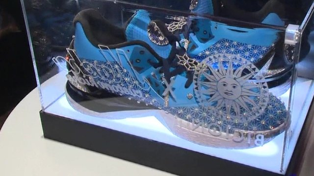 most expensive trainers - BBC News