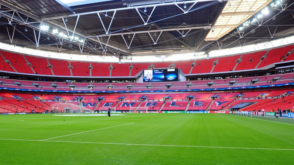 Londra'daki Wembley Stadyumu