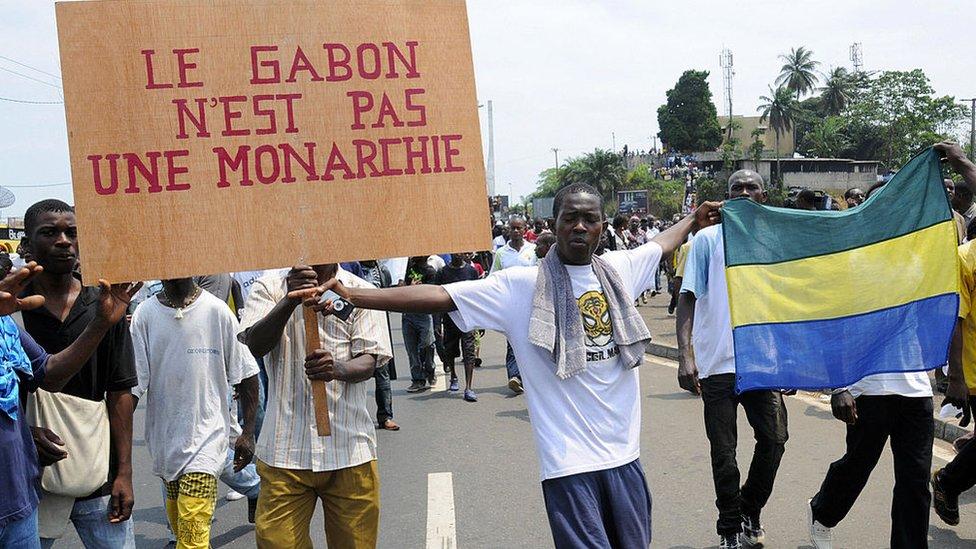 Габон 2009