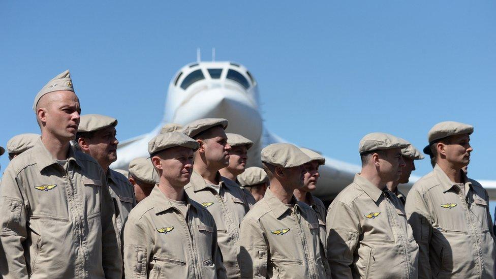Fuerzas rusas en Maiquetía
