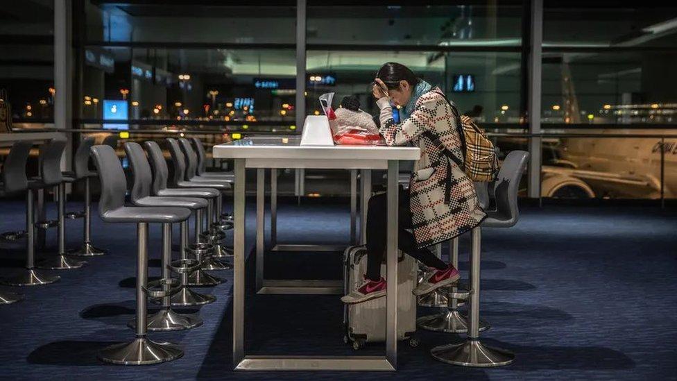 El aeropuerto de Shanghái