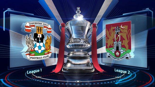 Coventry v Northampton highlights