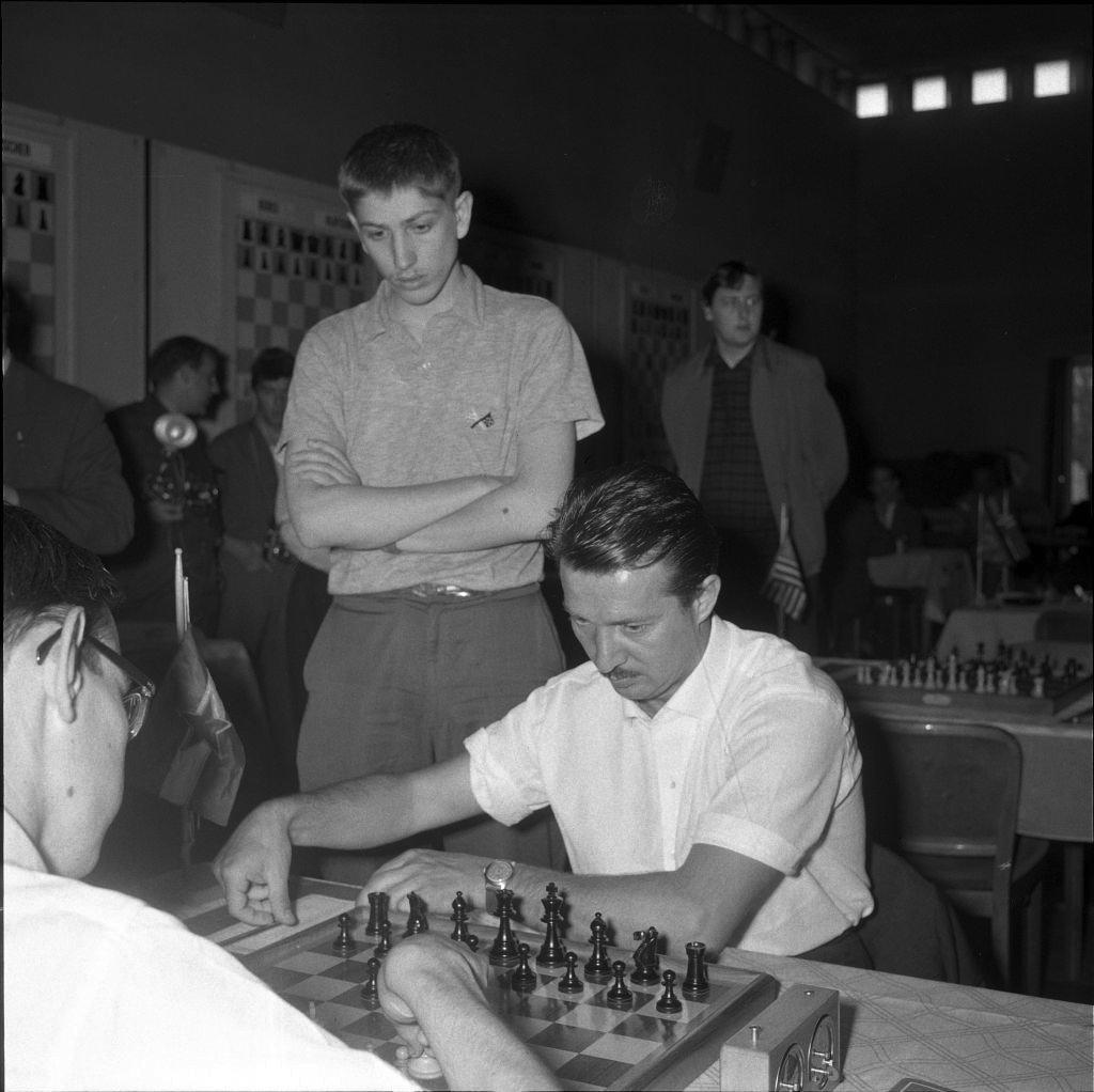 Bobi Fišer i Svetozar Gligorić