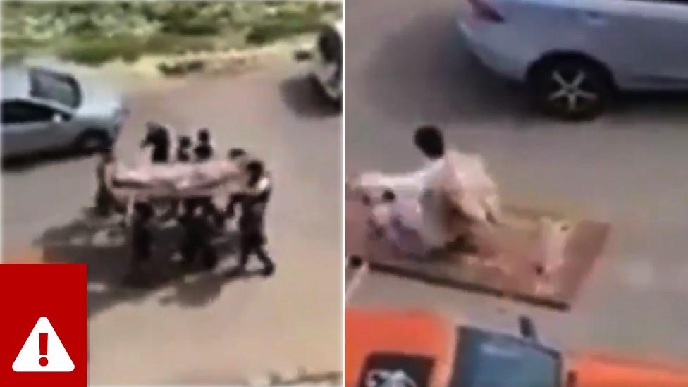 Remaja Yordania pura-pura memakamkan jenazah