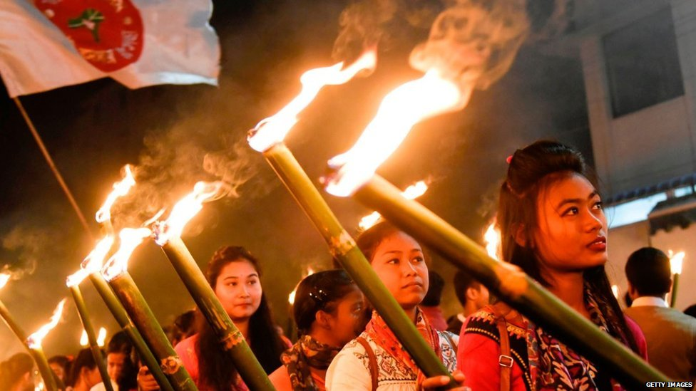 असम में विरोध प्रदर्शन
