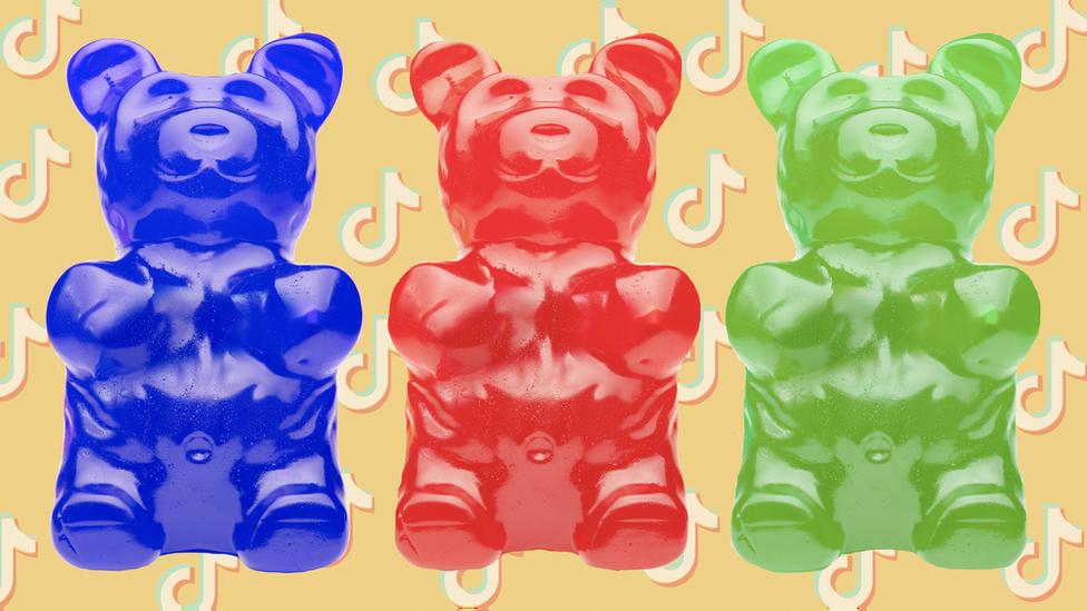 小熊軟糖與TikTok—抖音商標