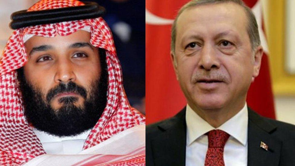 اردوغان وبن سلمان