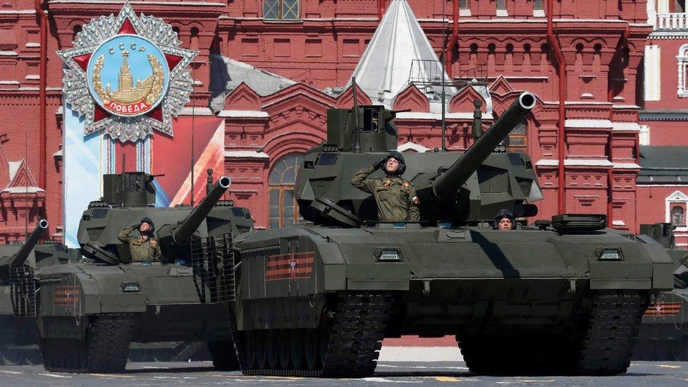 T-14 Armata tank, 9 May 16