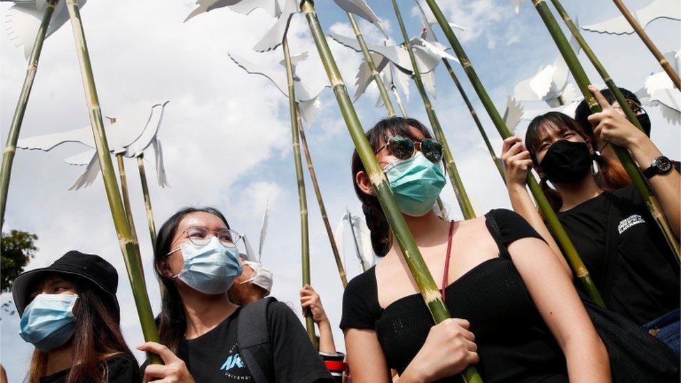 Grupos prodemocracia en Tailandia, 16 de agosto de 2020