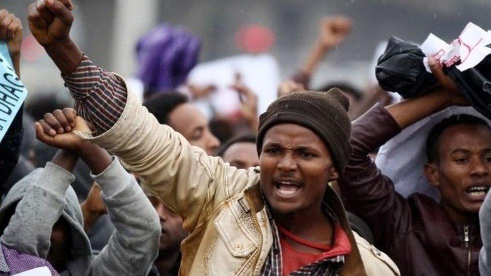يشكو الأورومو، أكبر مجموعة عرقية في إثيوبيا، منذ فترة طويلة من التهميش