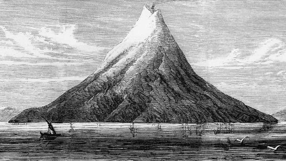 Dibuo del Krakatoa