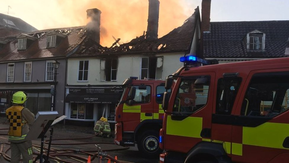 Man charged with arson after Halesworth newsagent blaze