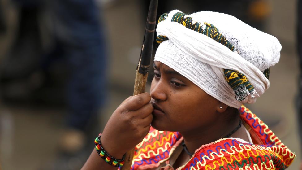 امرأة إثيوبية