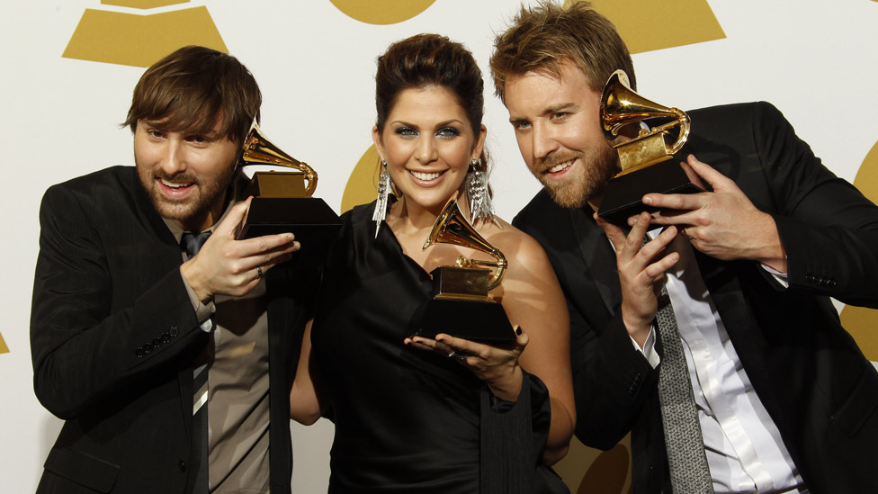 Lady A at the 2010 Grammy Awards