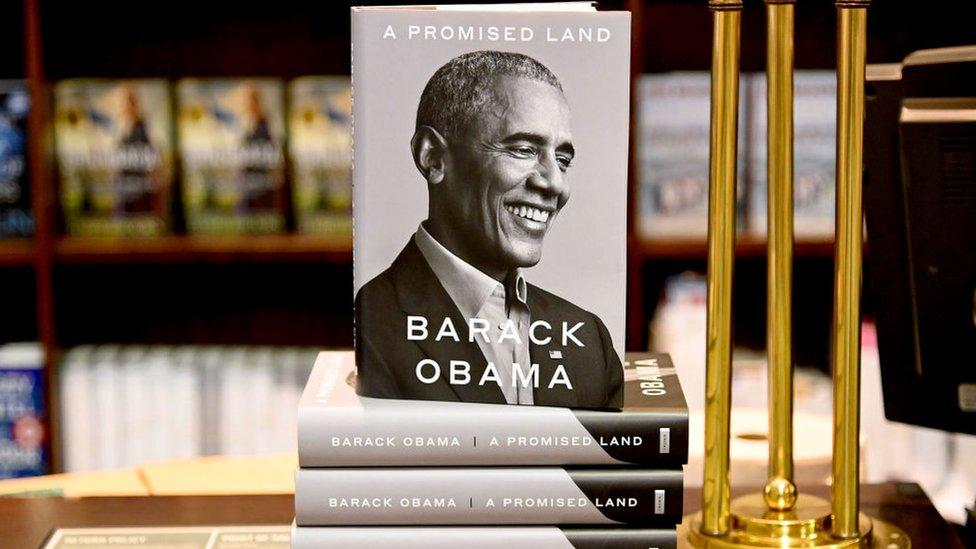 """ذكرات باراك أوباما """"أرض الميعاد"""""""