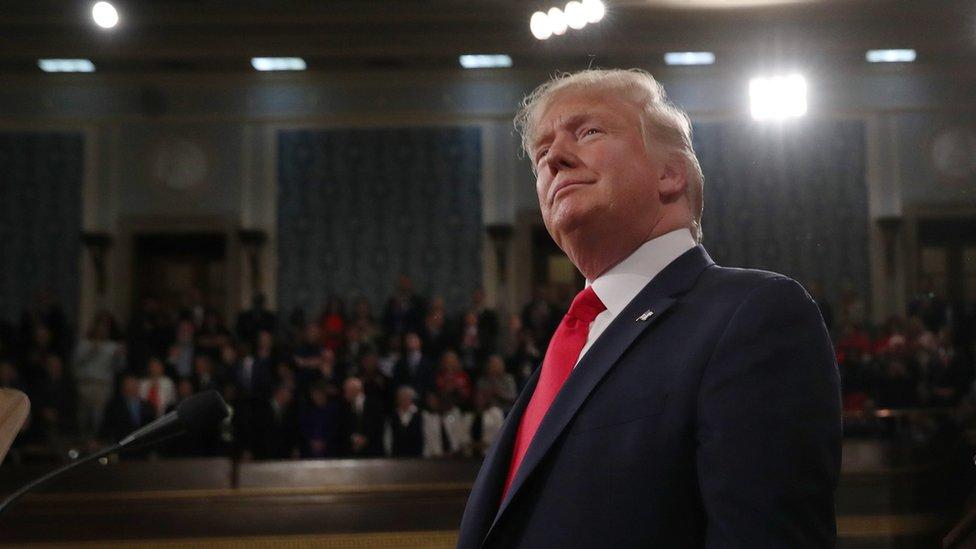 Trump en el Capitolio