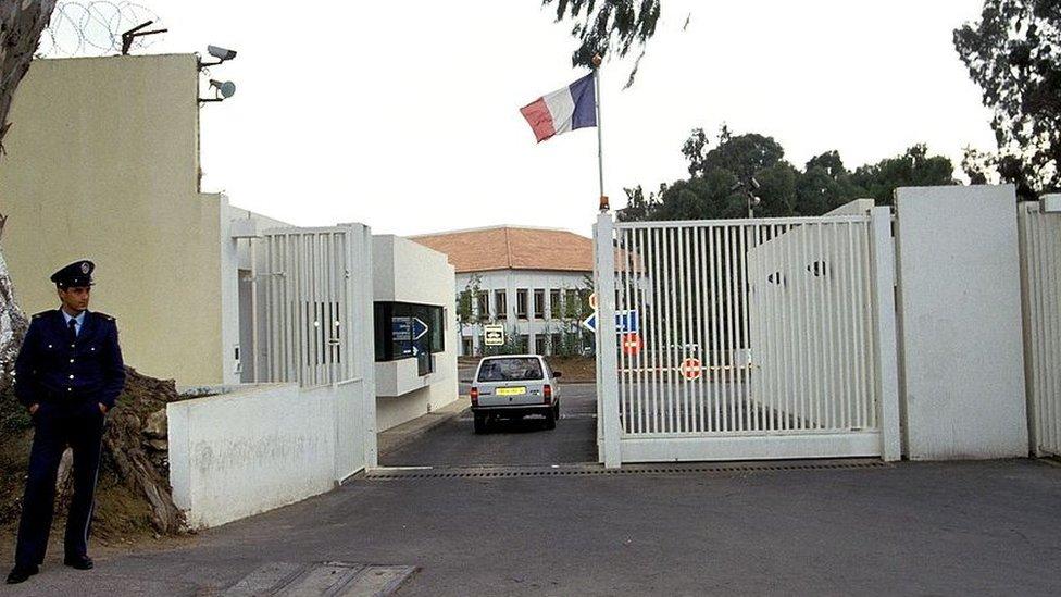 سفارة فرنسا لدى الجزائر