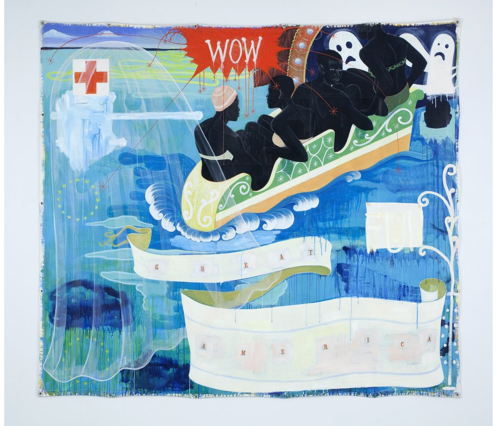 Great America, 1994 by Kerry James Marshall