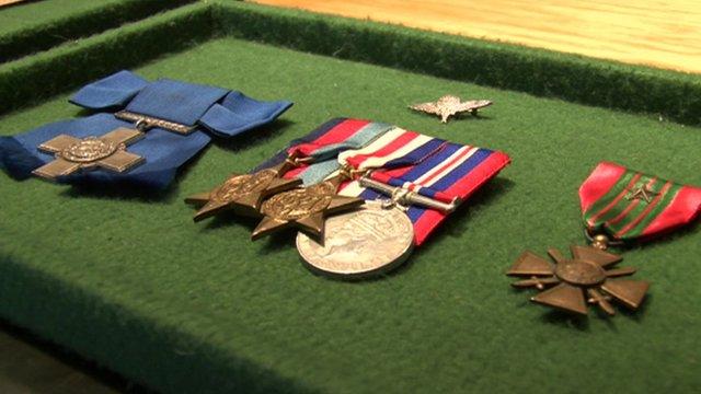 Violette Szabo's medals