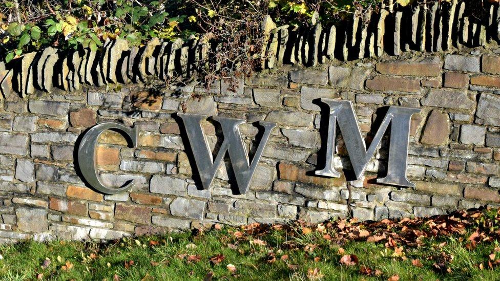 Cwm sign