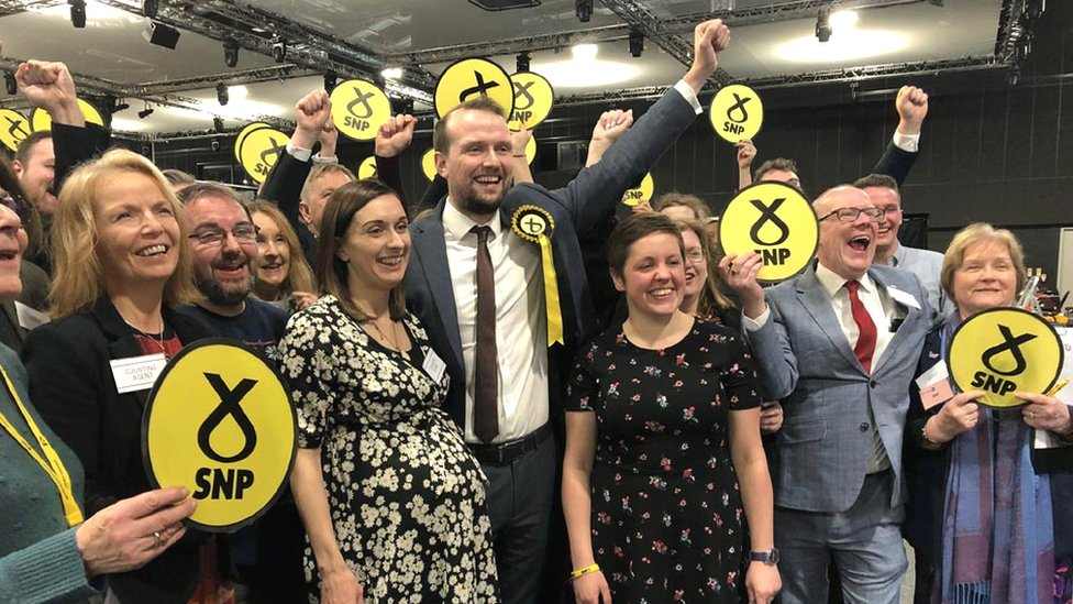 SNP MPs for Aberdeen South and North, Kirsty Blackman and Stephen Flynn.