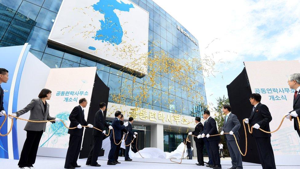 Apertura de la oficina en septiembre de 2018.