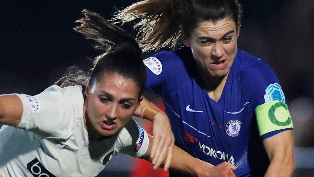 Women's Champions League: Paris Saint-Germain Féminines v Chelsea Women