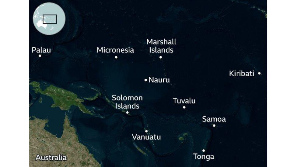 جزر المحيط الهادئ