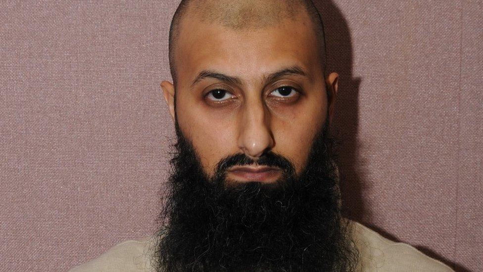 Zameer Ghumra custody photo