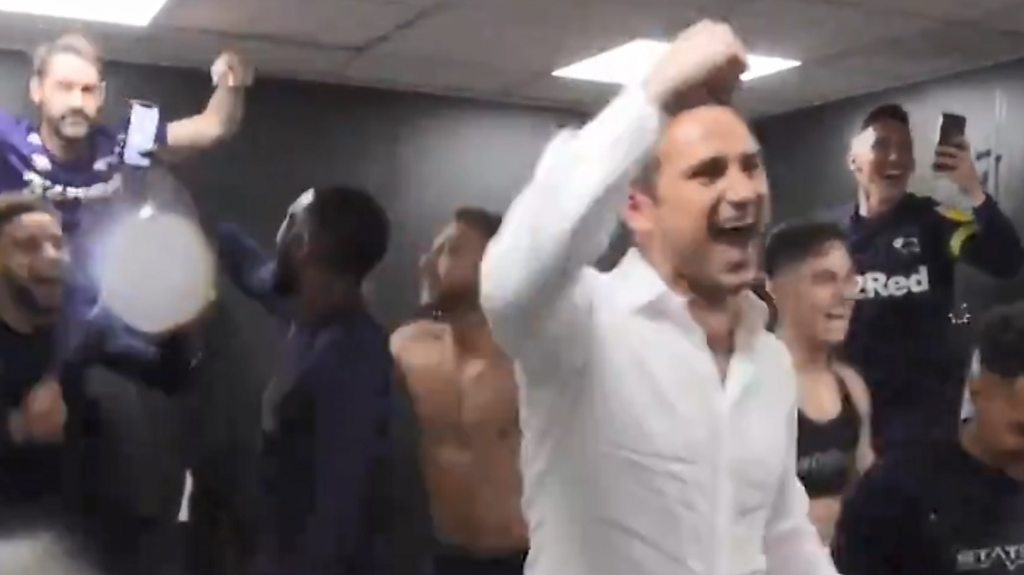 Chelsea legend Lampard's dressing-room jubilation at Leeds' expense