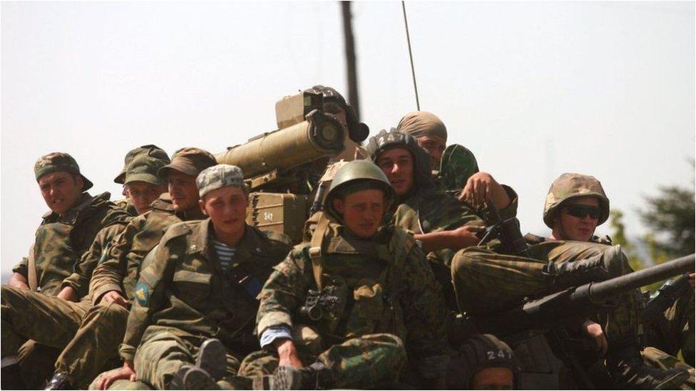 П'ять днів у серпні 2008 року: хроніка російсько-грузинської війни