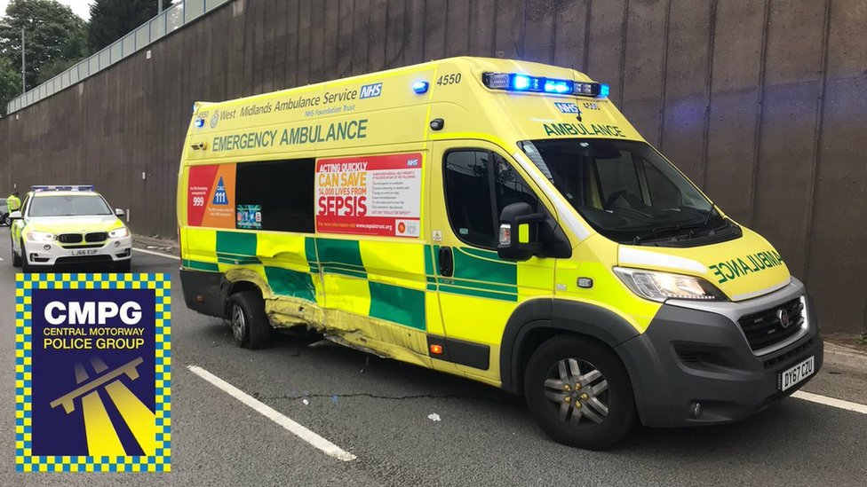 'Driver asleep' crash on Aston Expressway prompts warning