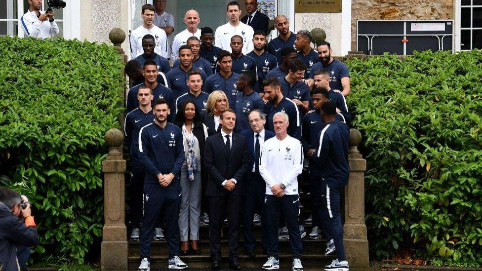 Equipo de Francia para Rusia 2018.