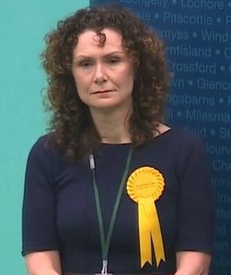 Wendy Chamberlain and Stephen Gethins as result is declared in North East Fife