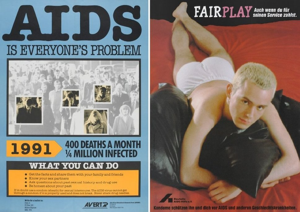 Aids posters
